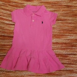 Ralph Lauren polo 2t ruffle dress girls
